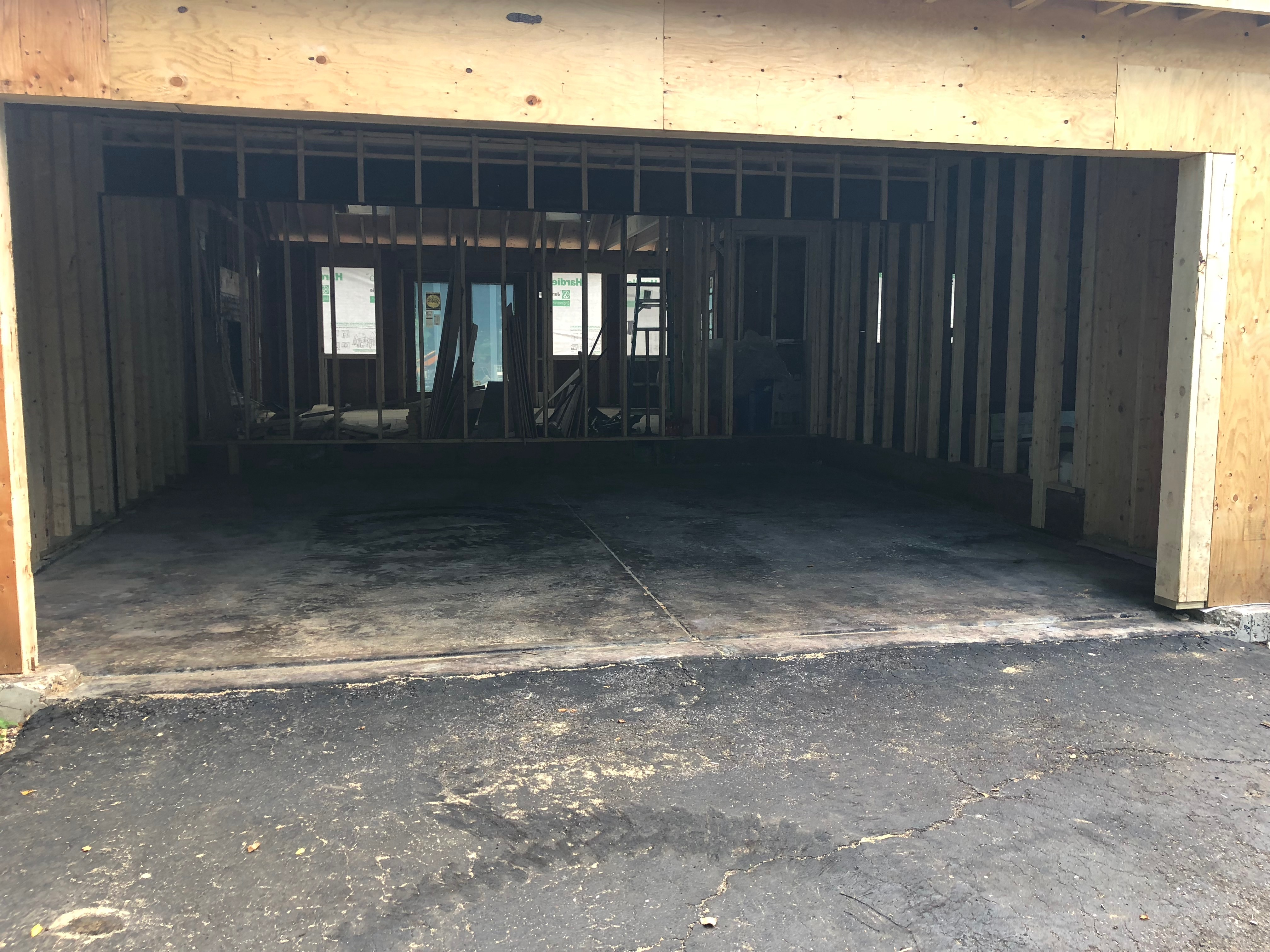 A New Garage Floor Gizmo Exteriors Repair Installations