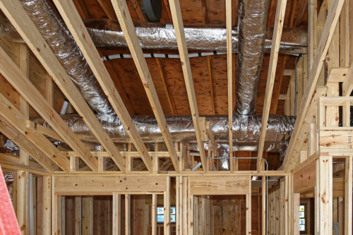 Insulated Ductwork For A New HVAC System