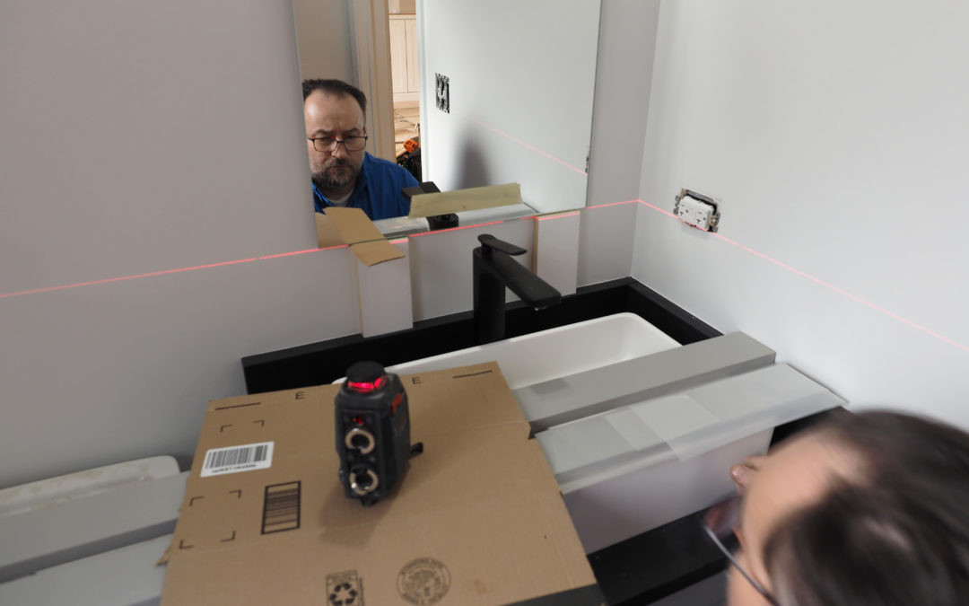 How To Mount A Frameless Mirror