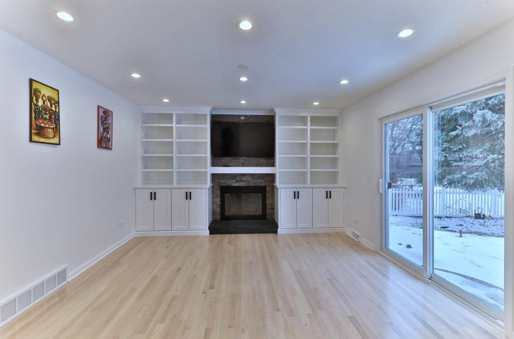 Custom Cabinets Make A Family Room
