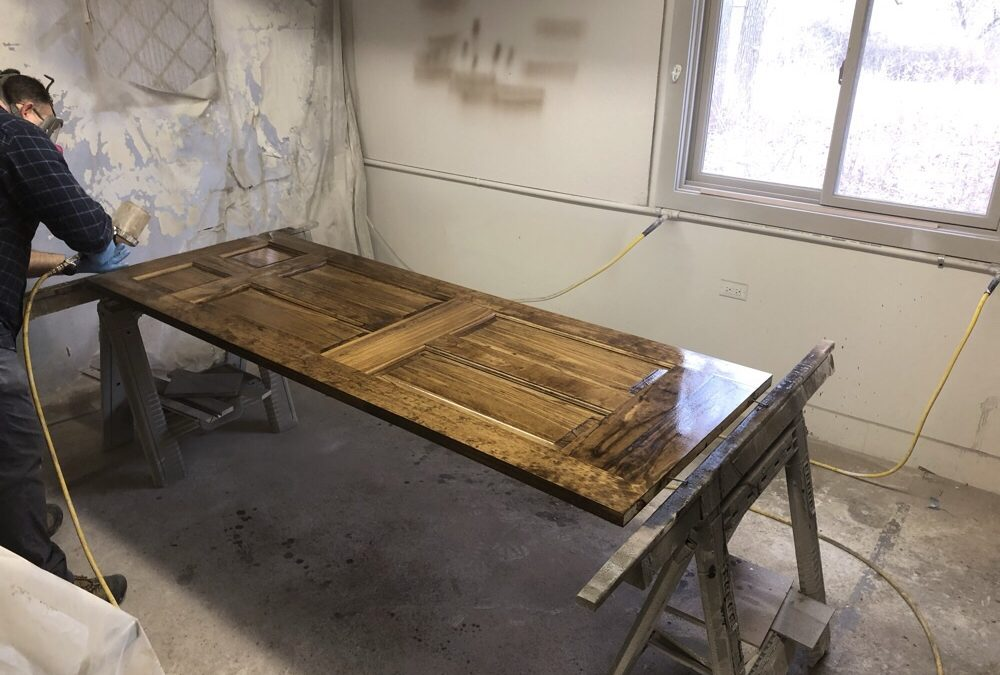 A Good Way To Stain A Door