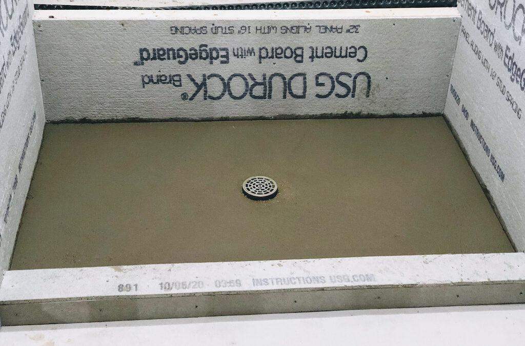 Installing A Shower Base