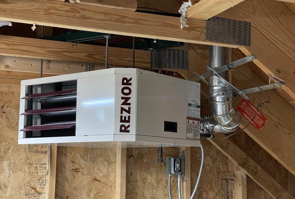 Adding A Garage Heater