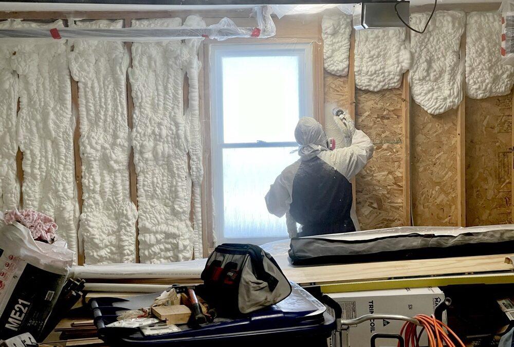 Insulating A Garage