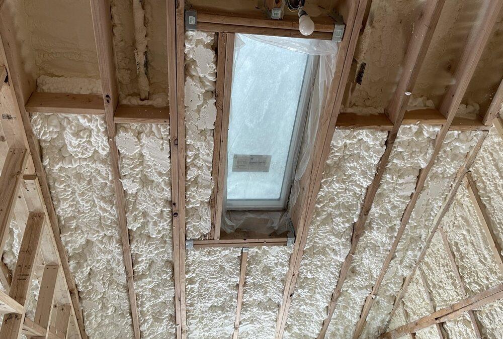 More Foam Insulation