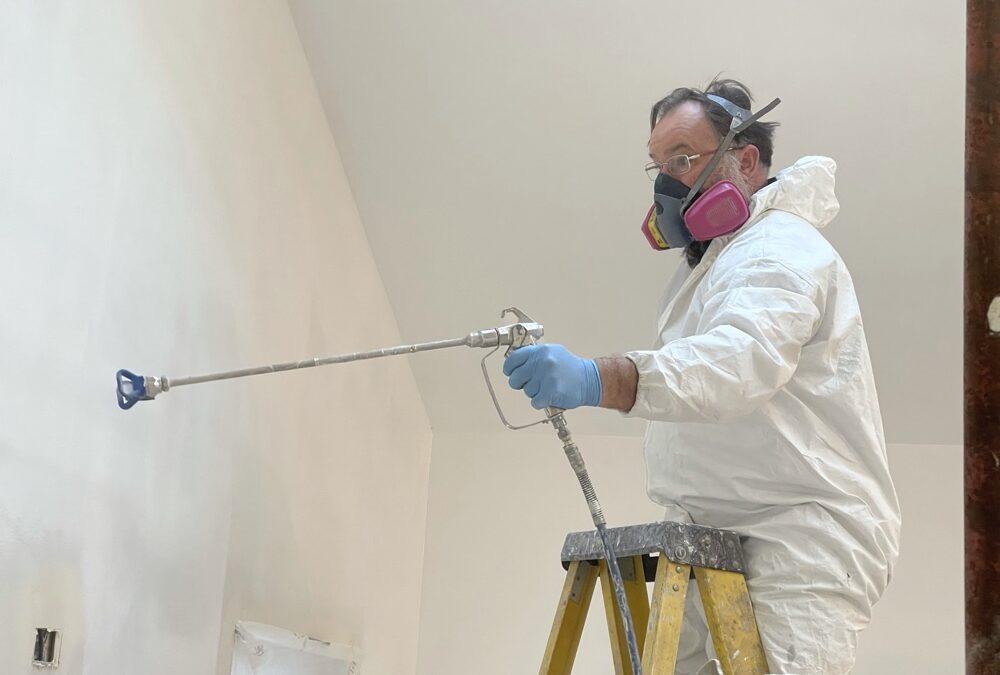 Spray Painting Primer.