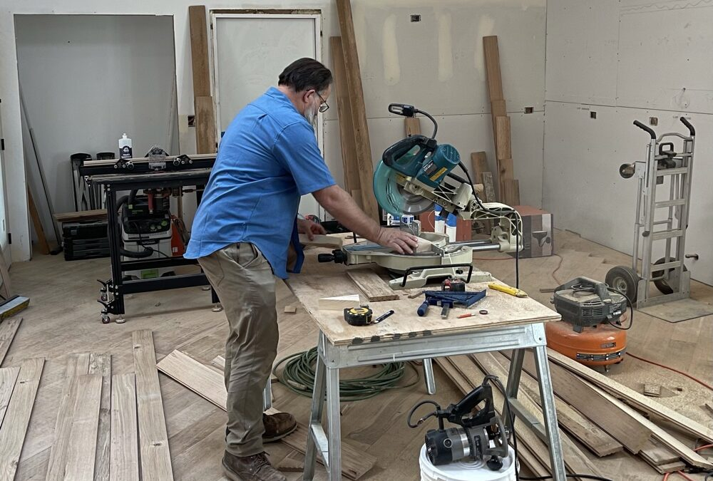 Installing A Tricky Floor