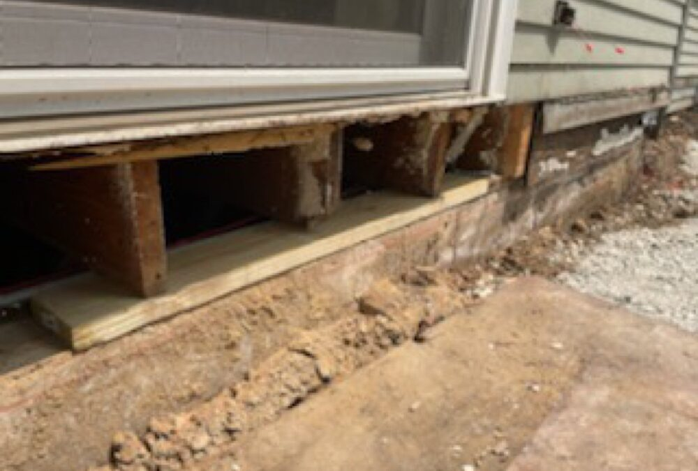 A Honest Concrete Contractor/Replacing a Rim Joist and Sill Plate
